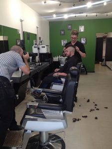 Charity Head Shave 1